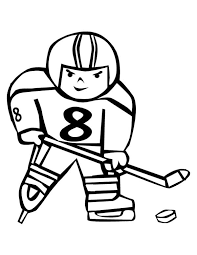 hockey player score coloring netart