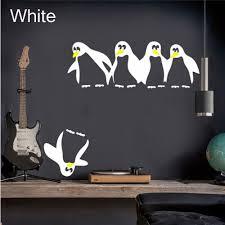 aliexpress com buy funny penguin kitchen fridge sticker diy