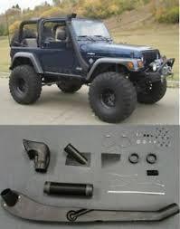 jeep yj snorkel 1999 2006 jeep wrangler tj yj air intake snorkel kit system new free