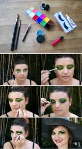 Step By Step Halloween Makeup Ideas Easy Witch Makeup For Halloween
