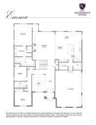 renaissance homes floor plans the emma renaissance living llc