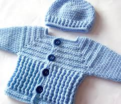 baby boy sweater baby boy sweater set crochet pattern crochet baby sweater and hat