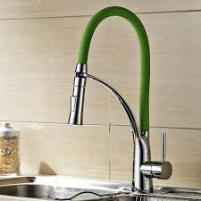 led kitchen faucet aliexpress buy kitchen faucet pull out d spray chrome cast