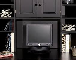 Modern Computer Desks Desk Wonderful Computer Desk With Hutch Black With 1000 Images
