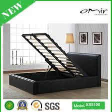 Wooden Box Bed Designs With Price New Product Pu Ottoman Bed Ss8100 Buy Ottoman Bed Single Ottoman