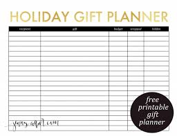 gift shopping list posts tagged printable collier