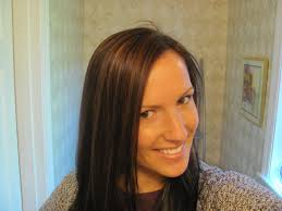 dark hair underneath light on top lowlights for brunettes before after got caramel highlights on the