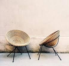 Modern Wicker Furniture by Mid Century Modern Wicker Sfgirlbybay