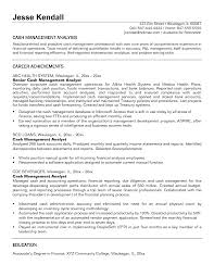 Sample Resume Investment Banking by Management Analyst Resume Berathen Com