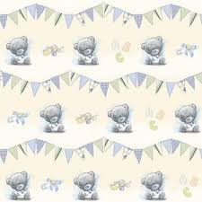 baby boy wrapping paper baby boy wrapping paper me to you tatty teddy gift wrap 2 matching