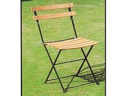 chaise jardin bois chaise jardin pliante bistrot hêtre clair lot de 4 38411 38419