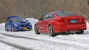 subaru rally wallpaper snow wrx sti vs bmw m4 snow tow summer tires awd vs winter tires rwd