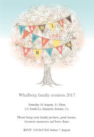 family photo album free printable family reunion invitation