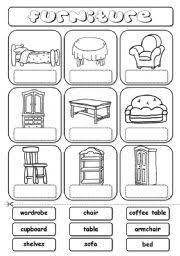 house furniture worksheets buscar con google englisch