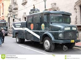 police truck old peruvian police truck editorial stock image image of lima