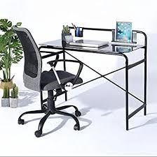 Sturdy Computer Desk Office Glass Computer Desk Study Laptop Desk Sturdy