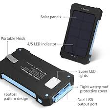 phone charger solar chargers x dneng 10000mah portable solar power bank high