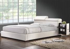 Leather Platform Bed Leather Platform Bed White Furniture Stores Chicago