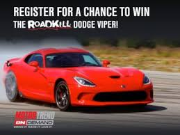 dodge viper gt dodge viper gt giveaway sweepstakes