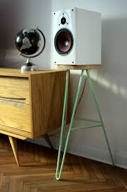 Laptop Desk With Speakers by Best 25 Speaker Stands Ideas Only On Pinterest Record Player