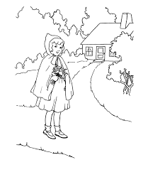red riding hood 61 cartoons u2013 printable coloring pages