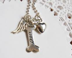pet memorial necklace pet memorial necklace personalized pet dog loss sympathy dog