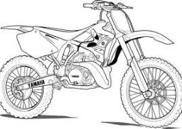 dirt bike coloring pages coloring4free com