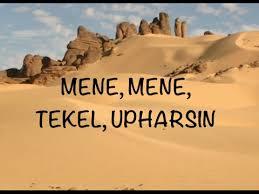 Meme Meme Tekel Upharsin - mene mene tekel upharsin interpretation youtube