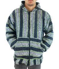 baja sweater baja joe s big zip up hoodie poncho lime surfer