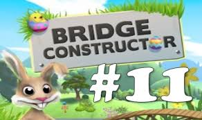 easter bunny i u0027m sorry bridge constructor 11 youtube