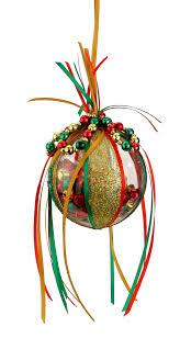 nicole crafts jingle bell plastic ball ornament ornaments craft