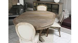 table ovale avec rallonge table ovale bois massif madame ki