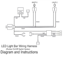 led light bar laser rocker on off switch with relay wiring sales