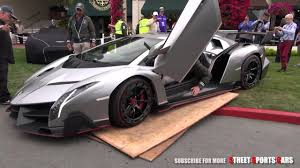 lamborghini veneno driving lamborghini veneno driving on the