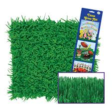 bulk easter grass 36ct beistle easter party green grass paper mat bulk party supplies