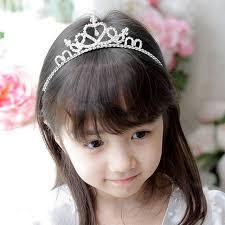 flower girl hair accessories kids flower girl children wedding prom tiara crown headband kid