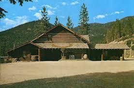 Ponderosa Floor Plan Ponderosa Ranch Lake Tahoe Old Postcards Brochures Photos And