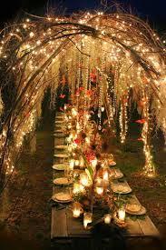 Backyard Wedding Lighting by Best 25 Candlelight Wedding Ideas On Pinterest Petite Bride