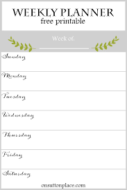 printable weekly and monthly planner 2015 weekly planner free printable on sutton place