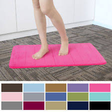 Posh Luxury Bath Rug Memory Foam Bath Mat Ebay