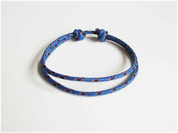 simple rope bracelet images Bracelet homme cordelette meilleur de simple rope bracelet blue jpg