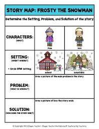 writing winter grade 1 1st grade story maps and story writing