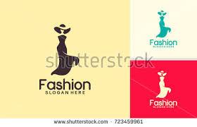 logo shoe store shop fashion collection stock vector 245436568