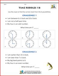 math puzzles printable
