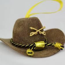 cavhooah brown cavalry hat ornaments