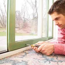 How To Fix A Patio Door How To Repair A Sliding Door Family Handyman