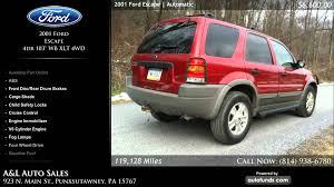Ford Escape Four Wheel Drive - 2001 ford escape 4dr 103 u0027 u0027 wb xlt 4wd a u0026l auto sales