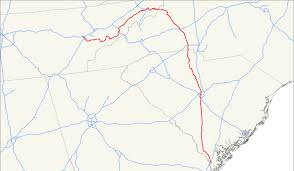 Tennessee Highway Map by U S Route 321 Wikipedia