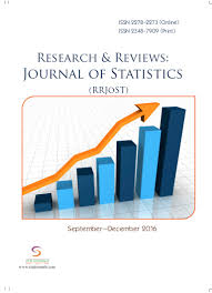 research u0026 reviews journal of statistics vol 5 issue 3