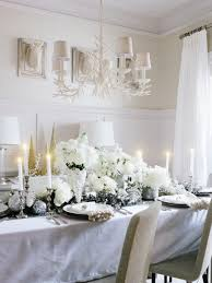 White Christmas Table Decorations Uk by White Christmas Table Decor U2013 Decoration Image Idea